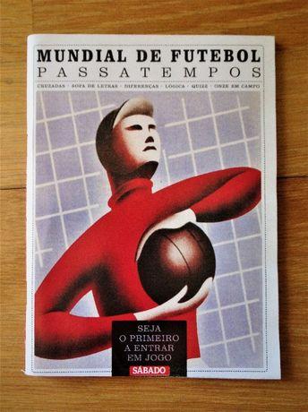 Livro Mundial de Futebol - Passatempos