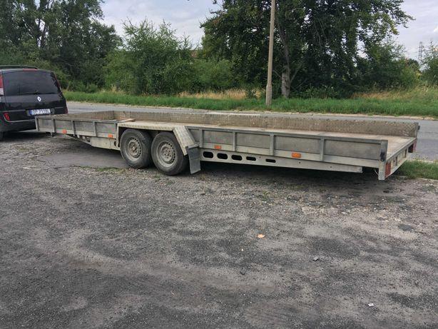 Przyczepa ciężarowa - laweta długość 6,75 m
