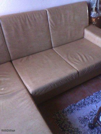 Sofa chaisse longue em napel