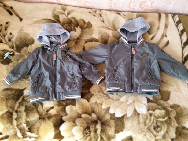 Спортивная Куртка детская, весна,новая, для двойни и раздельно,мальчик