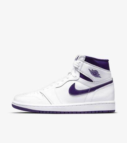 Jordan 1 High Court Purple W