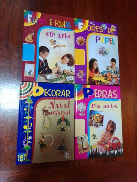 Livros de Reciclar, Decorar, Arte, Artesanato, Trabalhos Manuais