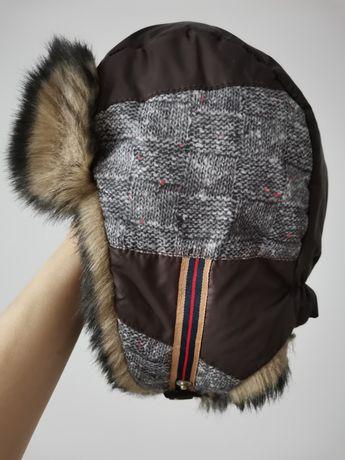 Шапка зимняя ушанка Dembohouse 50 размер