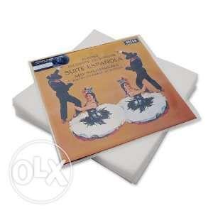 """Пакеты-конверты для винила LP """"12 наружные плотные 20 шт."""