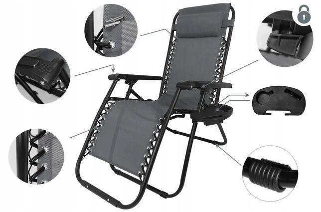 Шезлонг лежак крісло розкладне садове пляжне