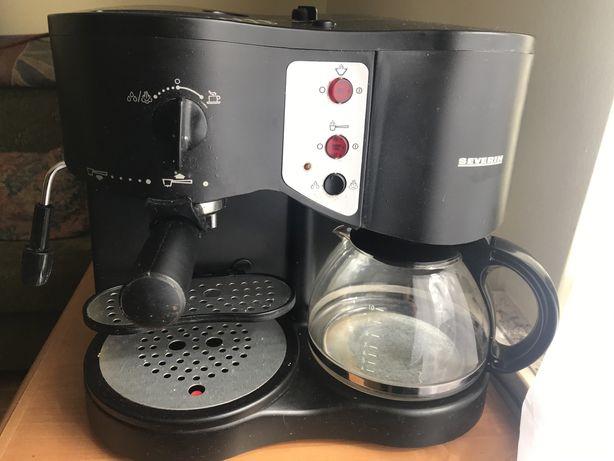 Ekspres do kawy przelewowo-ciśnieniowy SEVERIN