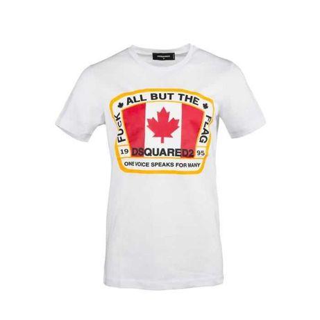 Tshirts Dsquared2 preto e branco