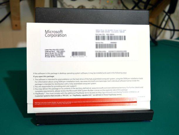 Microsoft Windows 10 Pro. Original Vitalício - DVD + Pen USB + Selo