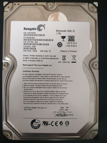 Жорсткий диск Seagate 1Tb