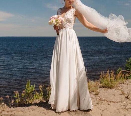 Свадебное платье, S