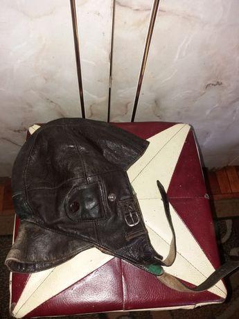 Головной убор шлем кожаный ссср