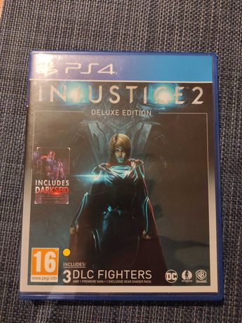 Injustice 2 deluxe edition PS4
