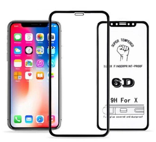 Szkło Hartowane 5D PEŁNE iPhone X XS 11 11 PRO MAX SKLEP W-WA