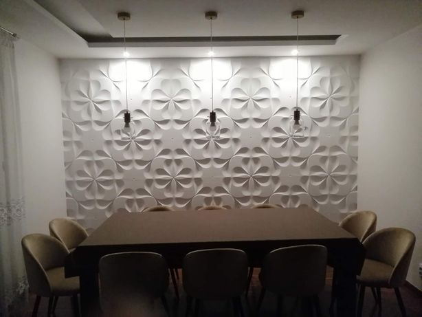 Panele dekoracyjne 3D panel gipsowy 3D panele ścienne 3D panel 3D