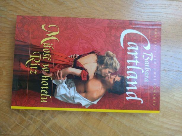 Miłość w hotelu Ritz - powieści królowej romansu