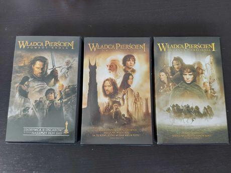 Władca Pierścieni Trylogia na VHS