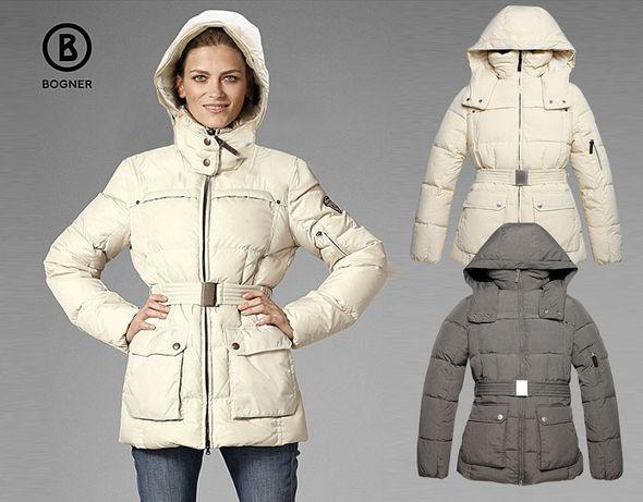 Женская куртка Bogner с ветрозащитой, немецкий бренд, пуховик