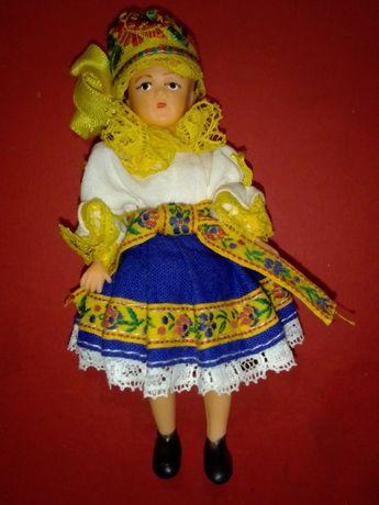 Винтажная кукла в национальном костюме 12 см ГДР