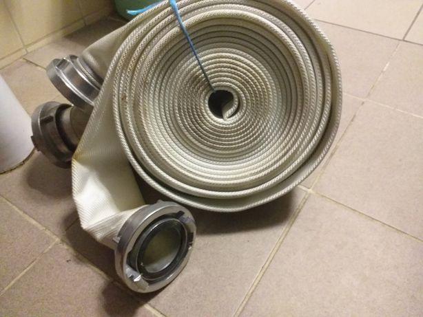 Wąż pożarniczy tłoczny, fi 52 mm