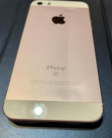 Iphone SE 16 G , rosegold, neverlock
