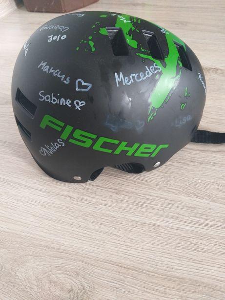 Kask rower rolki Fischer