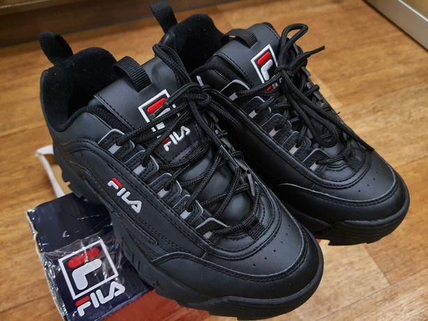 Fila Disruptor Black женские кроссовки. 36 размер