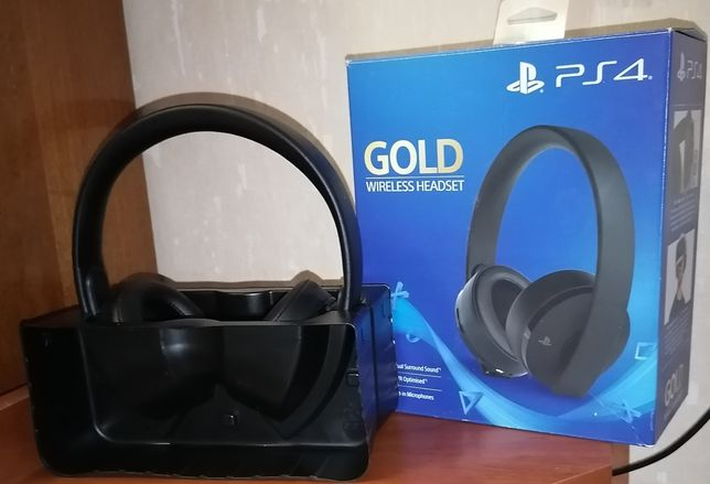 Гарнитура PlayStation Gold Wireless Headset