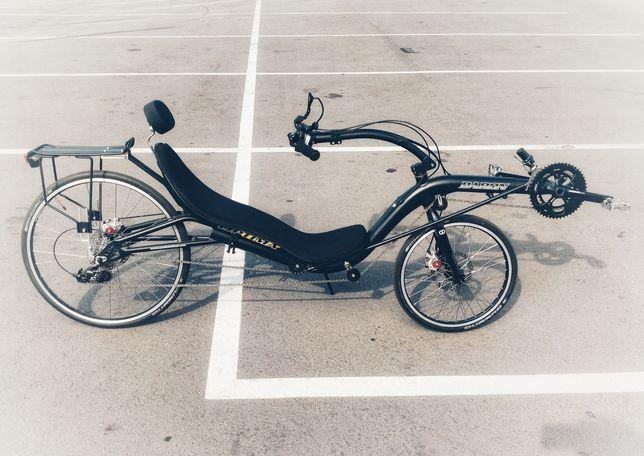 Лежачий велосипед Optima Baron Lowracer (лигерад \ рикамбент)!