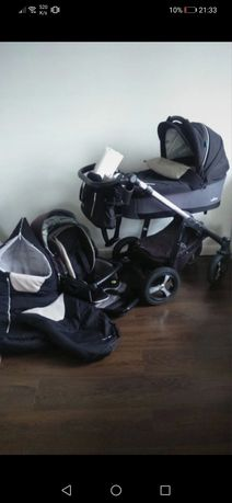 Baby Designe Husky 2017 wózek gondola spacerówka dużo dodatków, mufka,