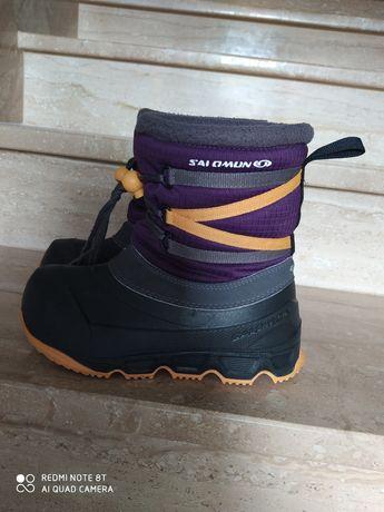 Buty śniegowce SALOMON rozm. 32-33