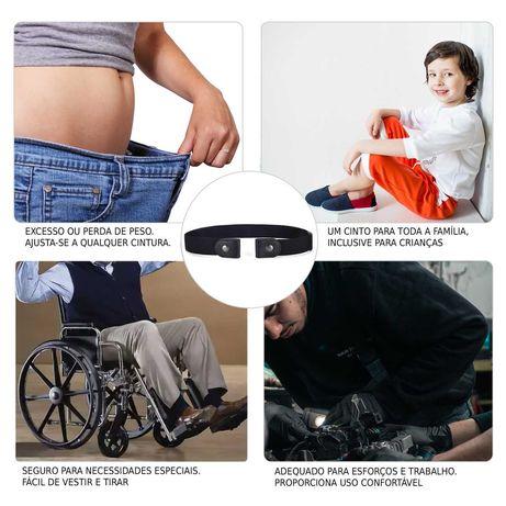 Cinto Elástico (Lazy Belt) homem / mulher unisex ajustável-PROMO 4,99€
