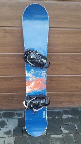 Deska Snowboardowa 160cm męska z wiązaniami + Buty, snowboard