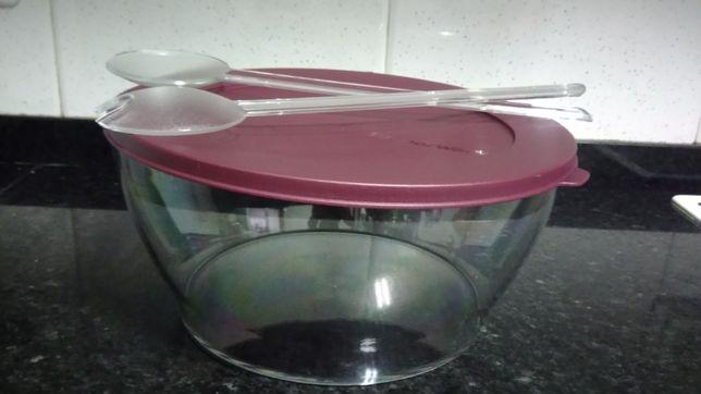 Tupperware Promoção - Saladeira com pinças