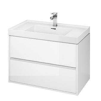 Okazja, szafka podumywalkowa   CREA 80 biała Cersanit