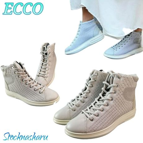 Ботинки, женские Кроссовки ecco soft 3 221513 р. 37