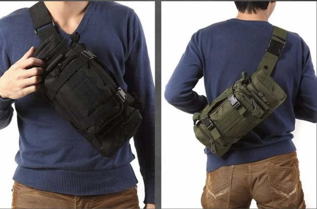 Рюкзак-сумка тактическая Molle 6 Литров на пояс или плечо САМОВЫВОЗ