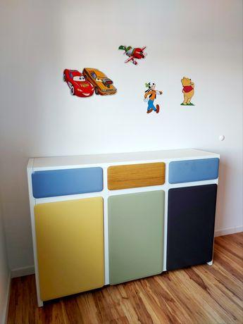 Komoda do dziecka/ idealny stan/ dl. 150 cm/ szer. 40 cm/ wys. 110 cm.