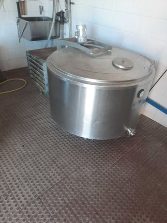 Tanque de leite de 500 litros