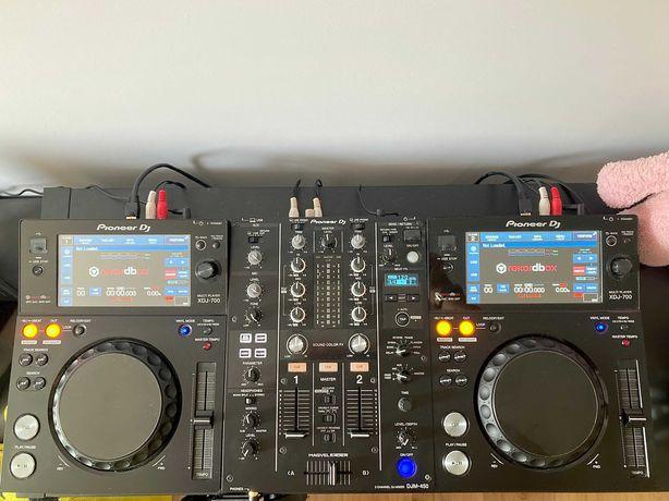 2x Pioneer XDJ-700 + DJM-450 MK2 - Sprzęt DJ XDJ