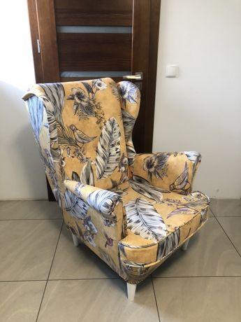 Fotel uszak wybór tkanin producent
