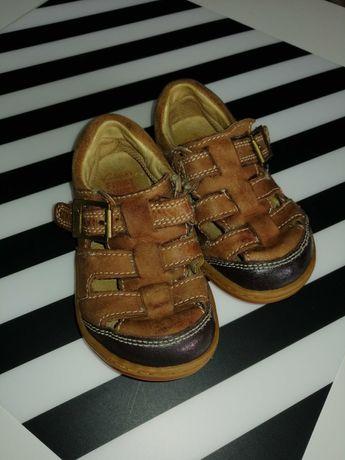 Buciki/sandały skórzane Clarks r. 22