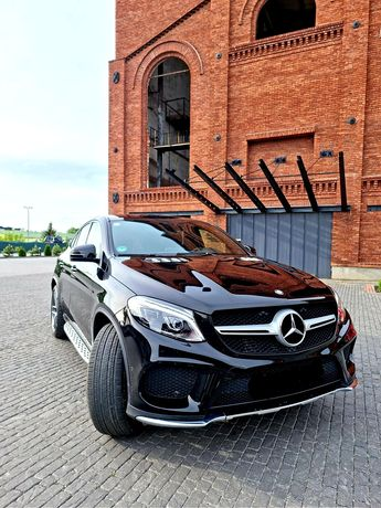 Auto do ślubu Mercedes-Benz GLE AMG