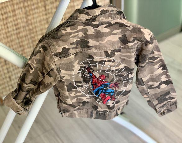 Kurtka moro Spideman + 2x koszula rozm 98 dla chłopca eleganta :)