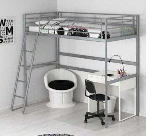 Cama alta IKEA 90x190