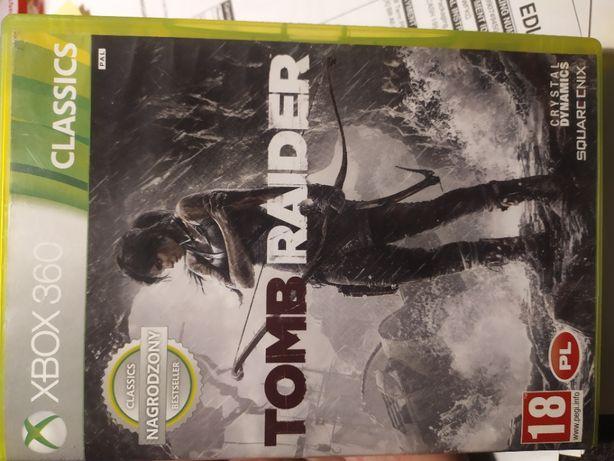 Tomb Raider xbox 360 PL
