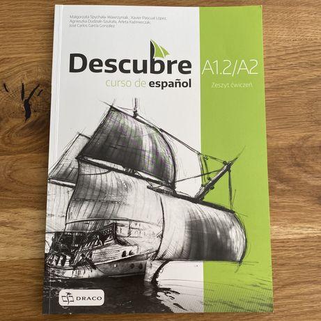 Język hiszpański - Descubre A1.2/A2 zeszyt ćwiczeń