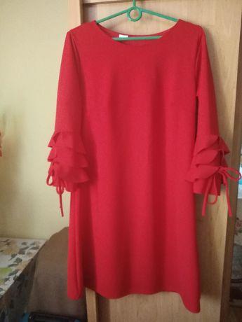 Piękna elegancka sukienka rozmiar 38