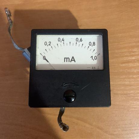 Микро амперметр советский