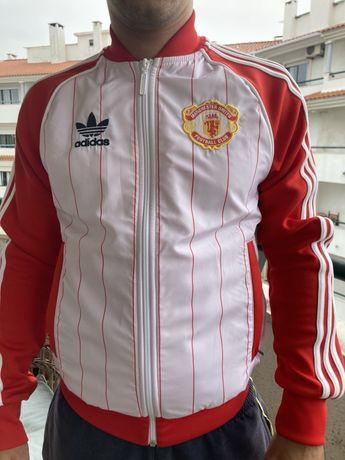 Casaco sem capuz da Adidas do Manchester United