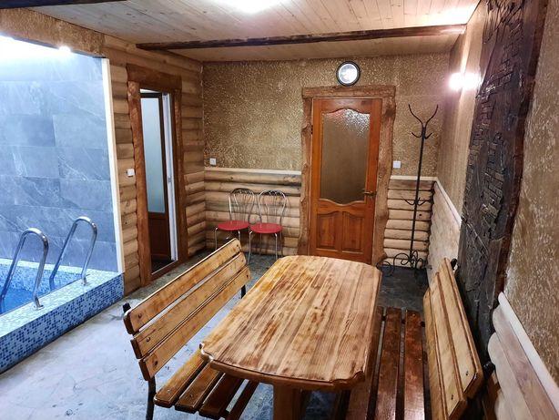 Баня на дровах в р-н Добровольной